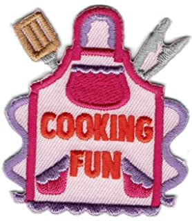Girl Boy Cub BAKE SALE baked goods Fun Patches Crest Badges SCOUT GUIDE school