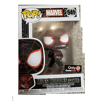 Funko Pop! Marvel Spider Man Gamer Miles Morales Exclusive: Toys & Games