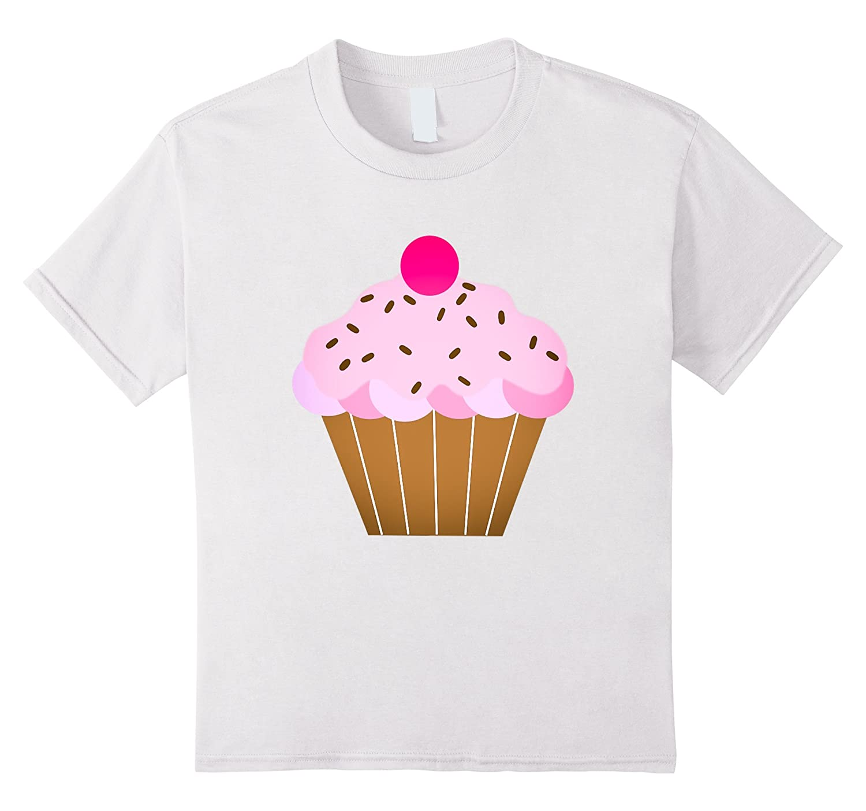 Cupcakes t shirt Strawberry Treat Purple-Newstyleth