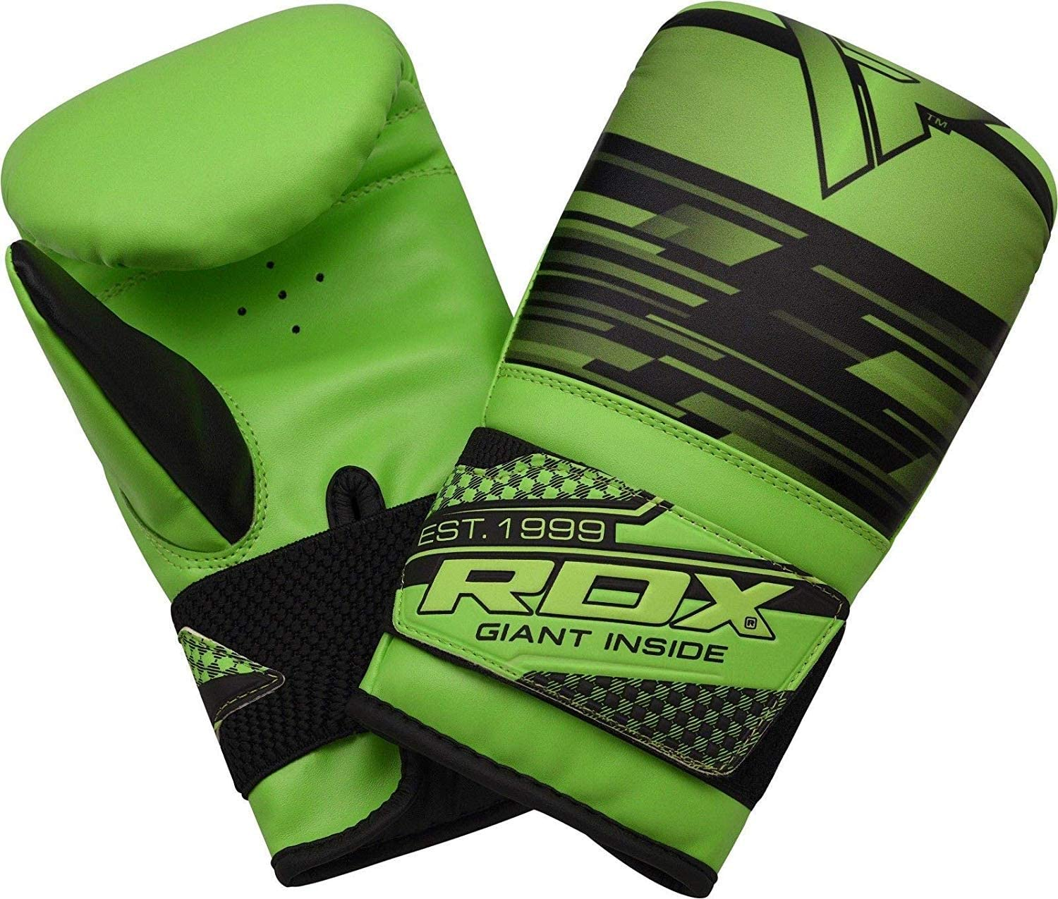 RDX Maya Hide Leather Boxing Gloves Heavy Punch Speed Bag Gloves Kickboxing MMA Punching Mitts Sparring Muay Thai Martial Arts