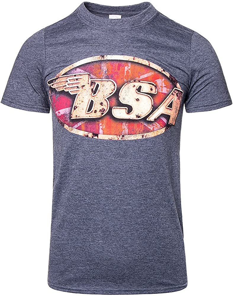 BSA SMALL ARMS MEN/'S MOTORBIKE T-SHIRT SIZES S-4XL OFFICIAL LICENSED SHIRT