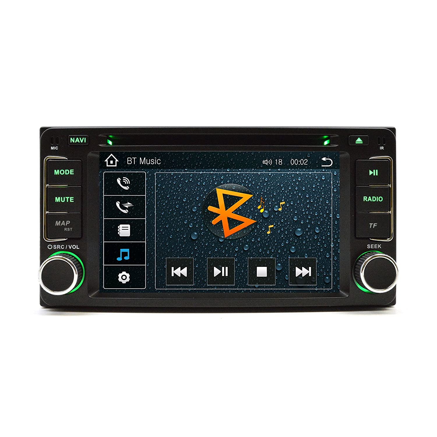 Amazon.com: OTTONAVI Toyota FJ Cruiser 2007-2011 In Dash Double Din Touch  Screen GPS iPod DVD Navigation Radio: Car Electronics