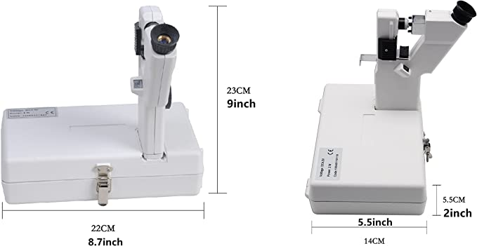 Huanyu - Lente óptica manual portátil para lectura externa con ...