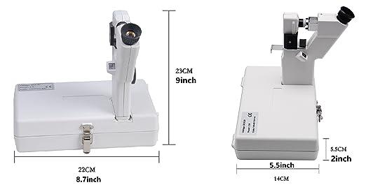 Amazon.com: huanyu Instrumento CP-1 portátil manual óptico ...