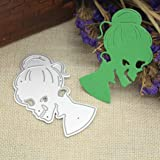 Lisin Happy Halloween Metal Cutting Dies Stencils
