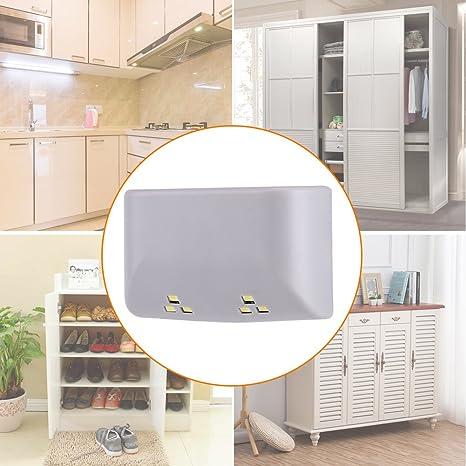 10PCS Cabinet Armoire Placard Armoire Porte Inner Hinge DEL capteur lumière cuisine