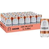 Cascade Lemon Lime & Bitters Multipack Mini Cans 24 x 200mL