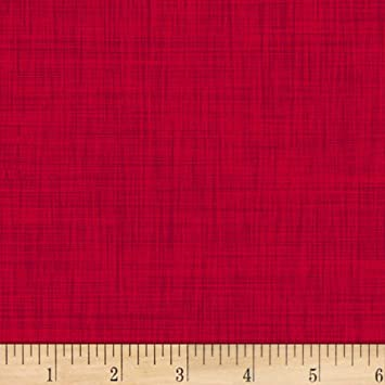 Woven Ruler Trim Red 5//8 inch wide 1 yard