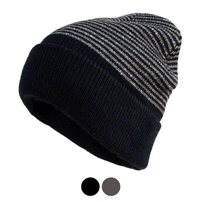 BG Heavy Duty Winter Outdoor Small Stripes Beanie Hat Skull Cap for Men One  Size at Amazon Men s Clothing store  73ffa6dd635