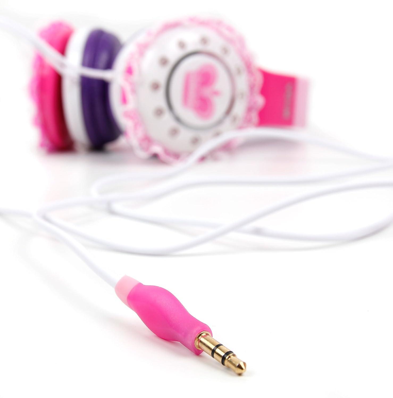 DURAGADGET Casque Audio Enfant Licorne Compatible avec Vtech Storio Max 5 et Storio Max Baby Tut Tut Aventures 106805 Tablette Tactile Enfant Ergonomique et Arceau R/églable