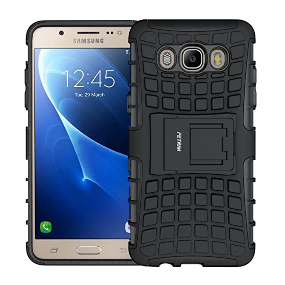 separation shoes 54f56 92e46 galaxy J5 Case,J5 2016 Case,Shockproof Slim Case Dual Layer Ultra  Protective Rubber Hard Protection Cover for Samsung galaxy J5 2016 with  Kickstand ...
