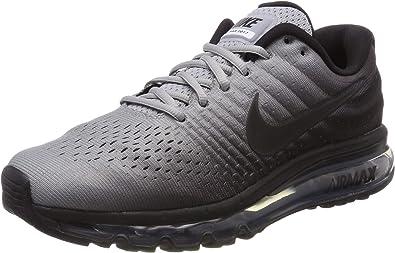 Nike Air MAX 2017, Zapatillas de Gimnasia para Hombre, Negro (Black/Black/Wolf Grey 002), 40 EU: Amazon.es: Zapatos y complementos