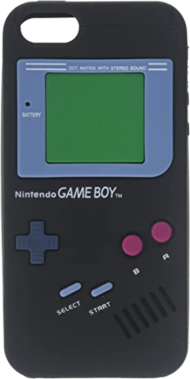 Game Boy Style Case for iPhone 5/5S - TPU Silicone Skin Cover ...
