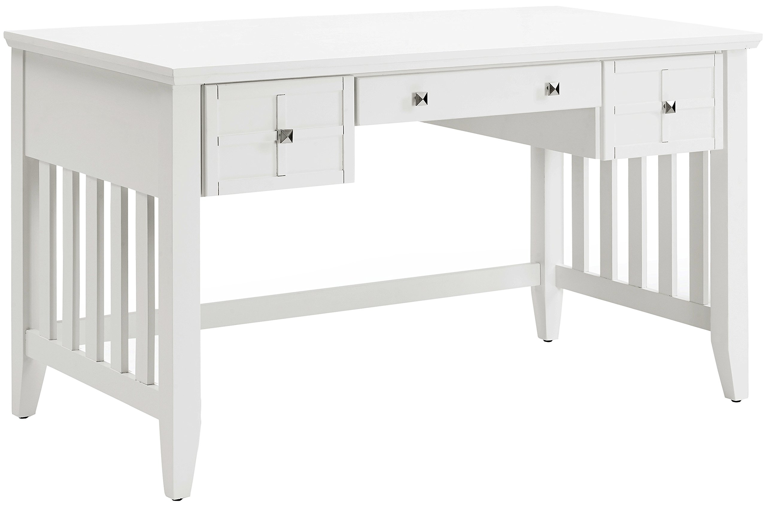 Crosley Furniture Adler Computer Desk with Keyboard Tray - White by Crosley Furniture