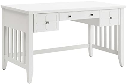 Amazoncom Crosley Furniture Cf6508 Wh Adler Computer Desk With