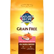 Nature'S Recipe Grain Free Dry Dog Food Salmon, Sweet Potato & Pumpkin Recipe
