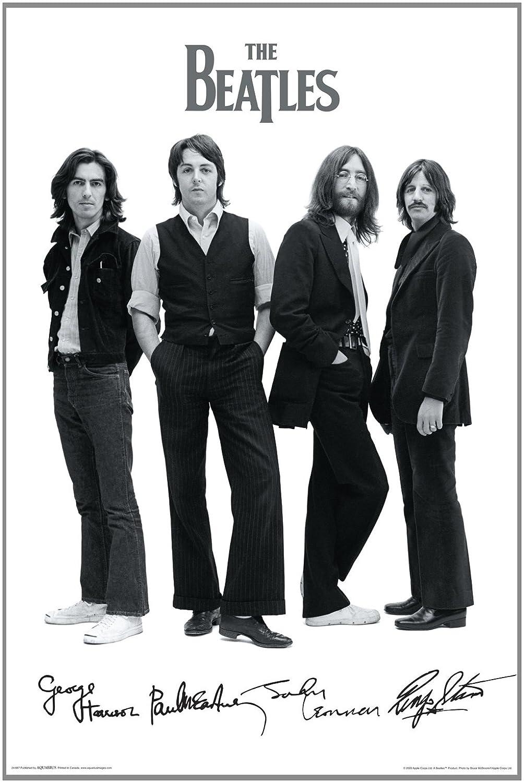 Amazon NMR Aquarius Beatles Signatures Poster Prints Posters