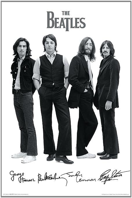 NMR Aquarius Beatles Signatures Poster