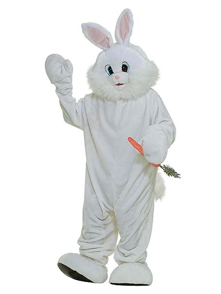Amazon.com: Forum Novelties Bunny Plush Mascot Deluxe Adult ...