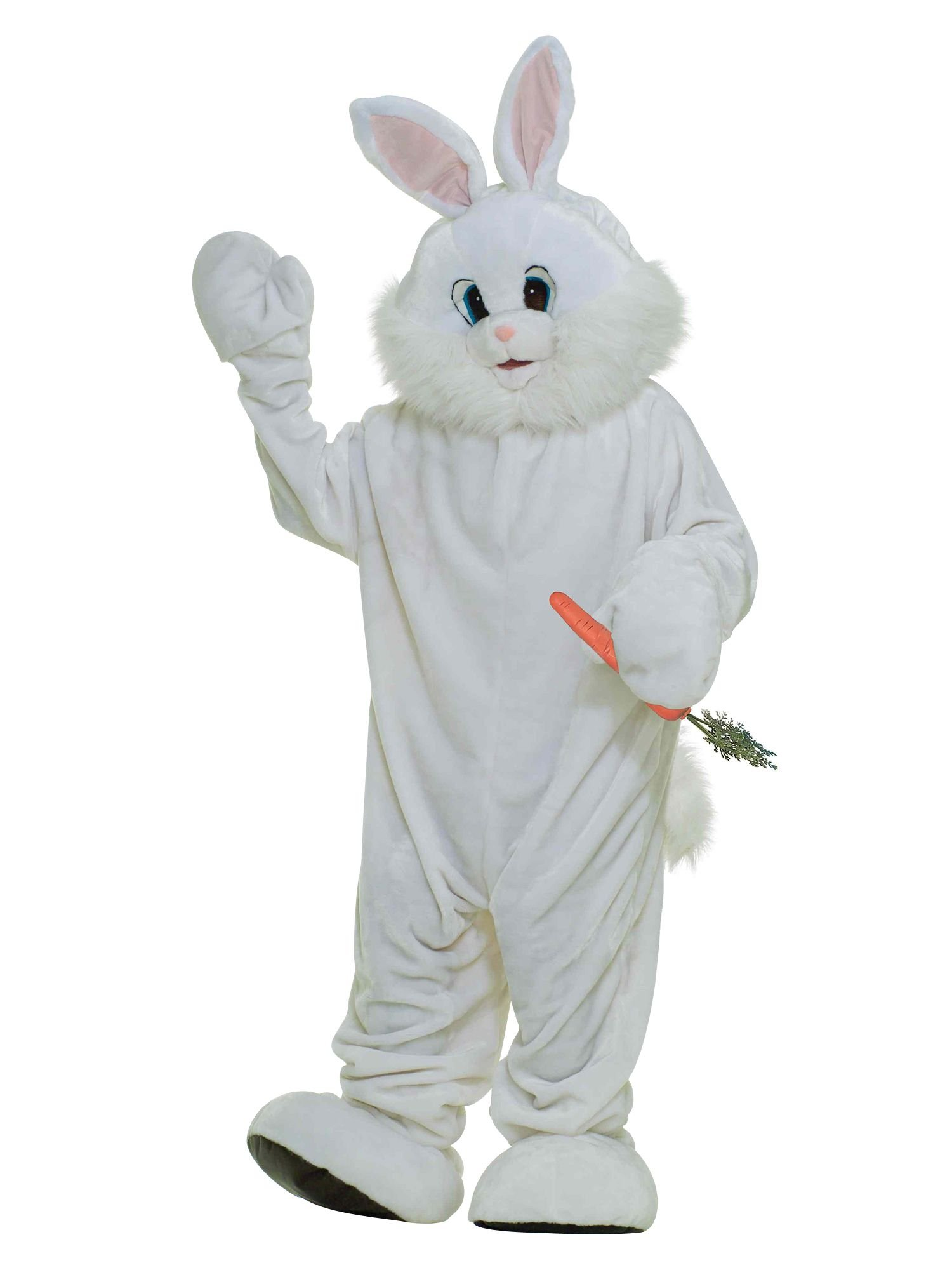 Forum Deluxe Plush Bunny Rabbit Mascot Costume, X-Large