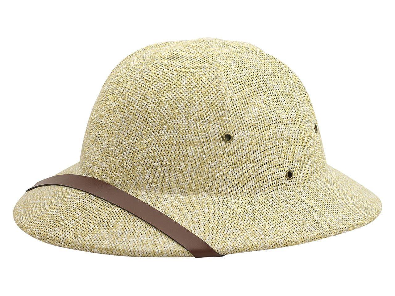 DPC Global Trends Men's Fine Twisted Toyo Pith Helmet