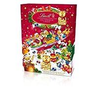 Lindt Calendrier de l'Avent Ours Chocolat Noël - 172 g - Lot de 2
