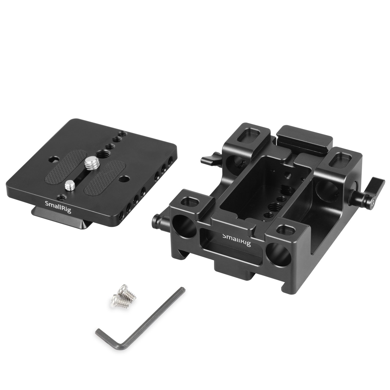 SMALLRIG Baseplate for Canon C200 and C200B with QR Plate for Arca and Dovetail for Arri–2076 by SMALLRIG (Image #2)