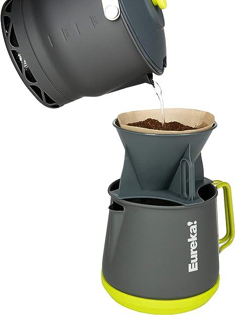 Eureka! Cafetera para Camping Camp Café, Gris: Amazon.es: Deportes y aire libre