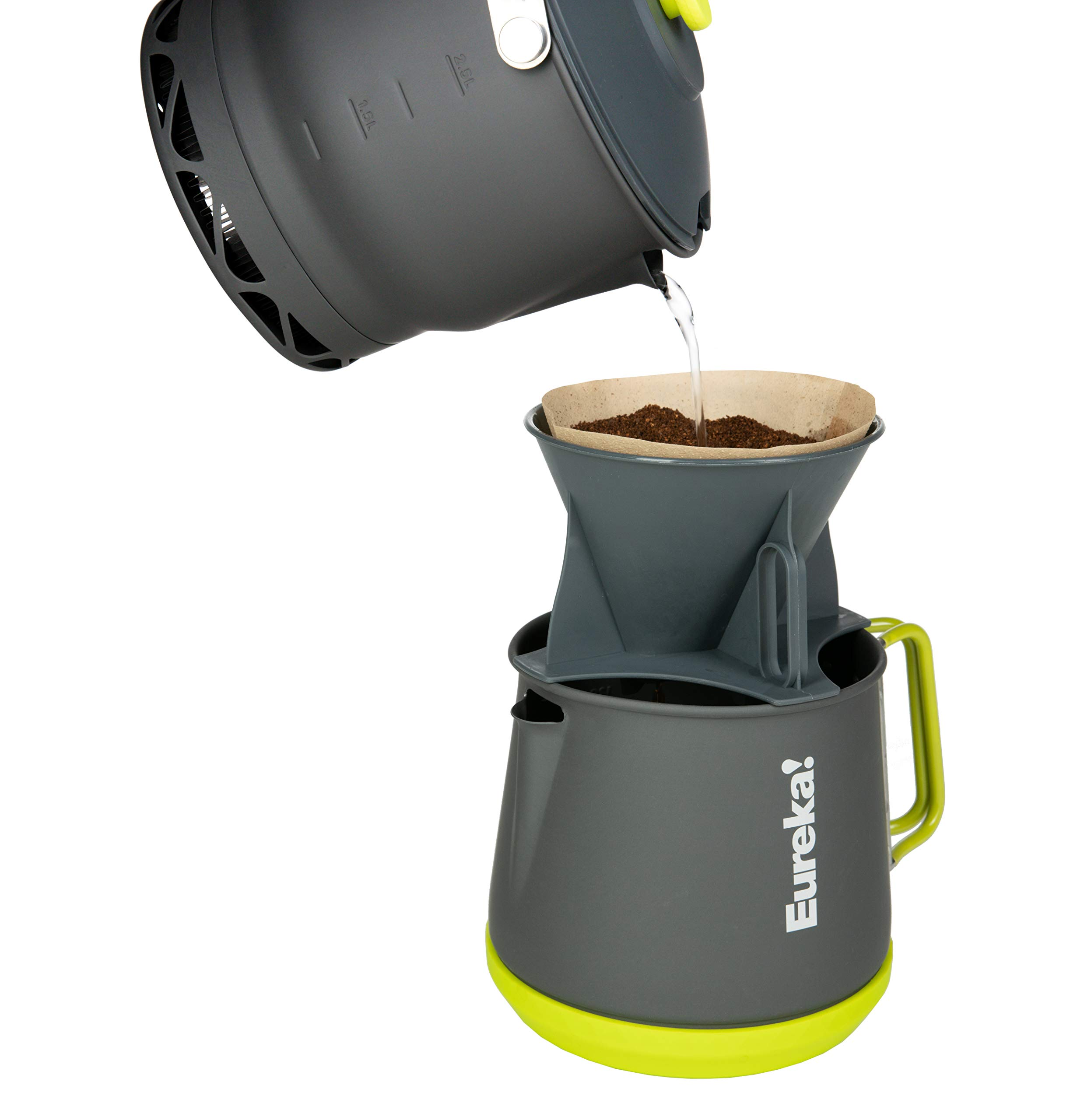 Eureka! Camp Café Camping Coffee Maker, Gray by Eureka!