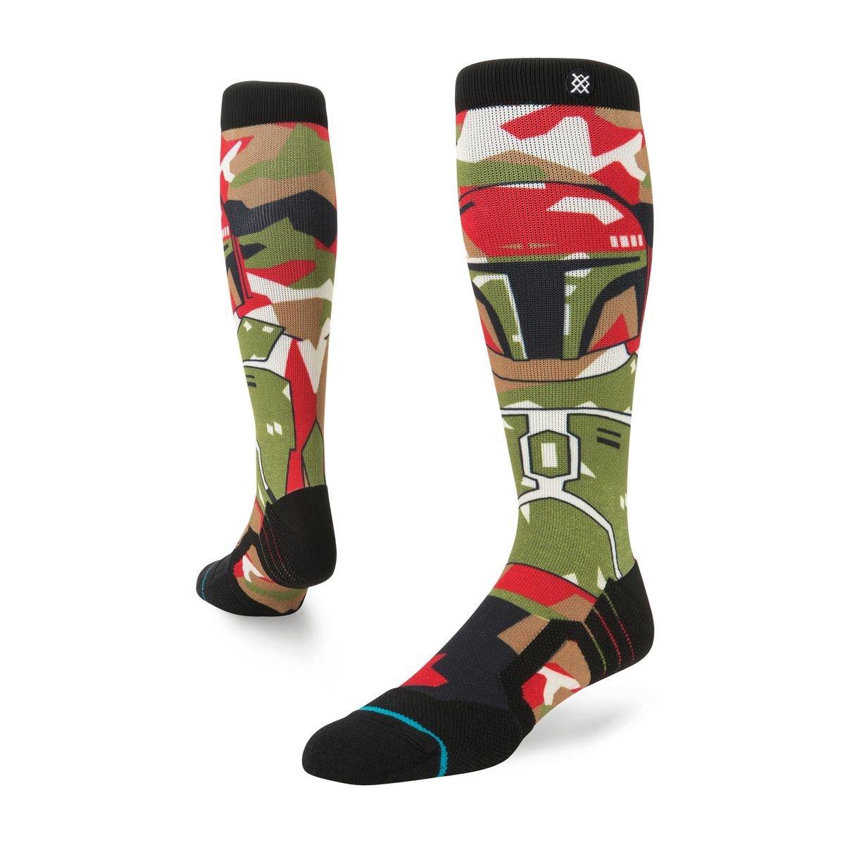Stance Star Wars Boba Fett Snow Socks - Olive Medium Stance Socks M758D17BOB-OLV-M