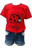 Kids Dotty 'Ladybird' Red kids T.shirt