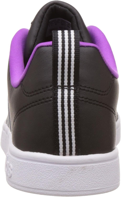 adidas Dames Voordeel Vs Lage Top Sneakers Black (Core Black/Matt Silver/Ftwr White)