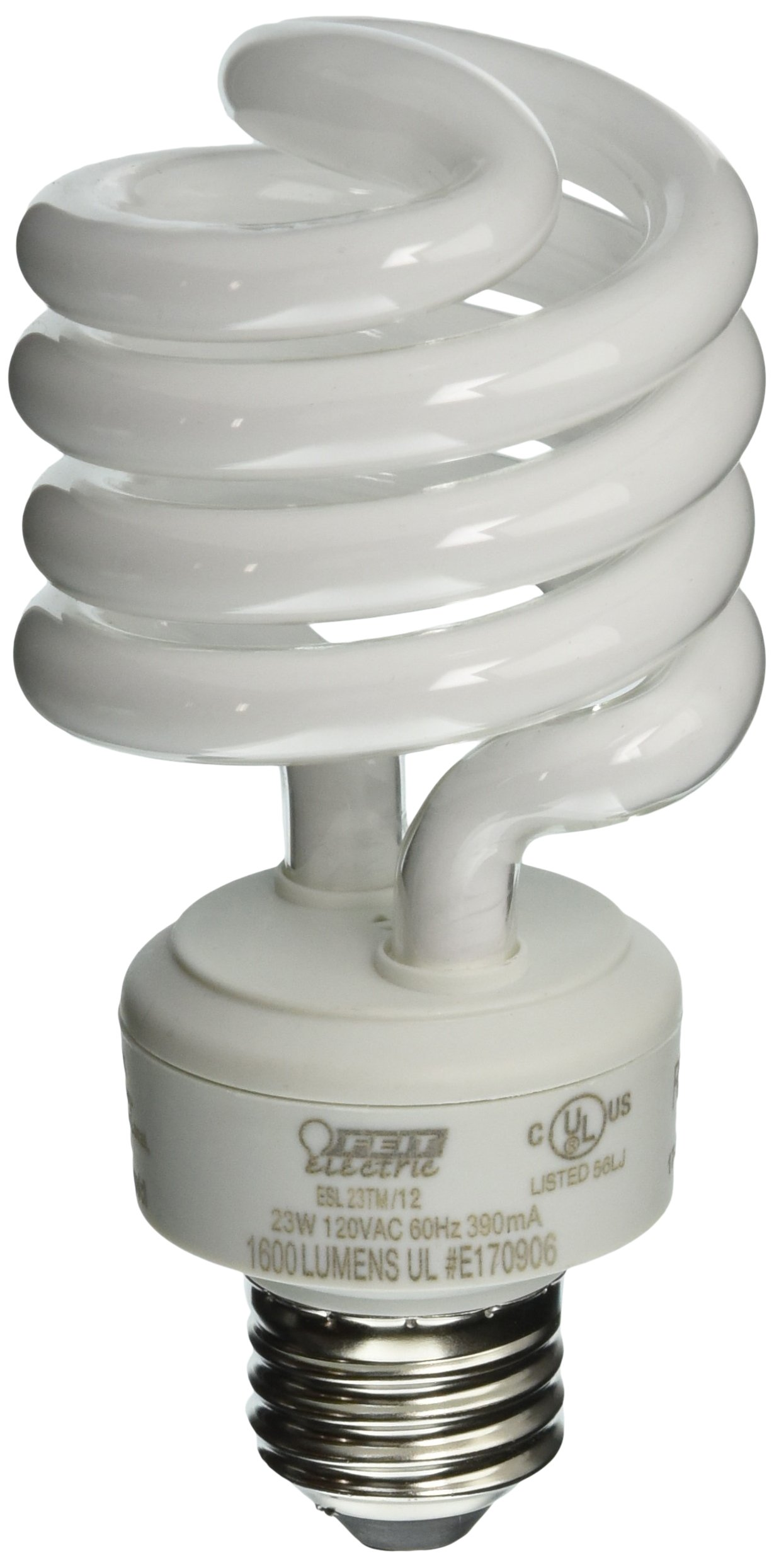 Feit ESL23TM/12 100W Equivalent CFL Twist Bulb (Pack of 12), Soft White