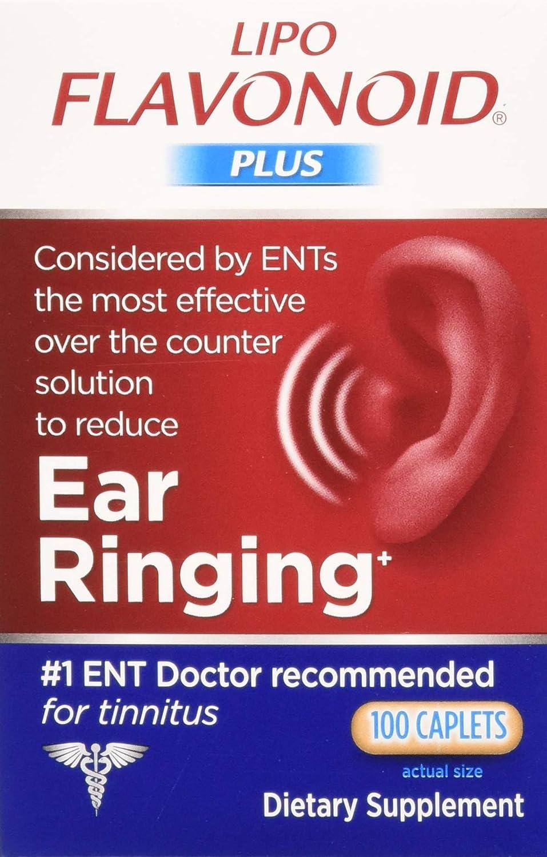 Lipo-Flavonoid Plus Unique Ear Health Caplets, 2 Count: Health & Personal Care
