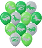"""Gypsy Jade's Crocodile Balloons - 36 Pack Large 12"""" Latex Alligator Themed Balloons - Great for Reptile Parties"""