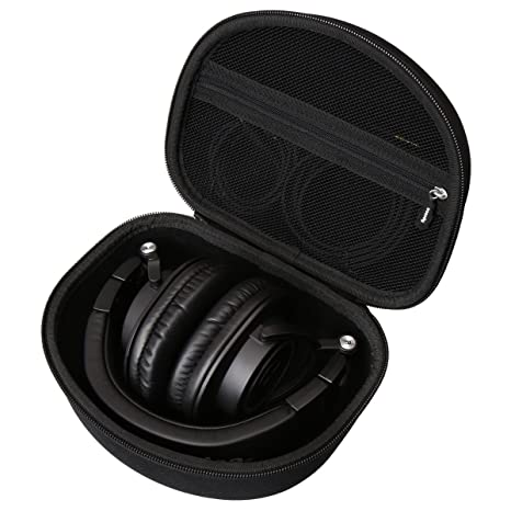 Aproca Hard Carry Travel Bag Case for Audio-Technica M50x Professional Studio Monitor DJ Headphones Headphone Accessories at amazon