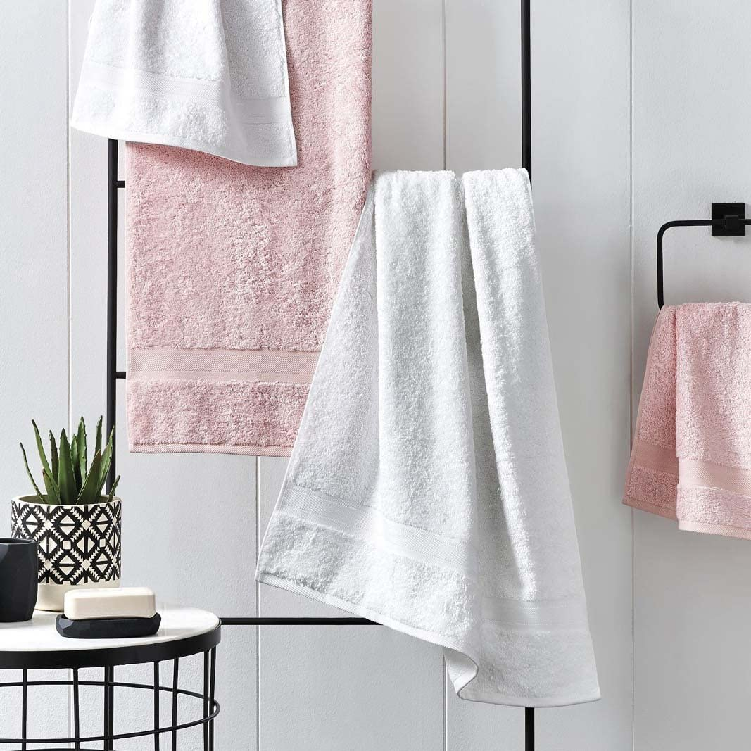 Antibacterial and Hypoallergenic Skin Friendly Beige Soft and Absorbent 27x54 Odor Resistant 2 Piece Luxury Bath Towel Set for Bathroom Jml Bamboo Bath Towels
