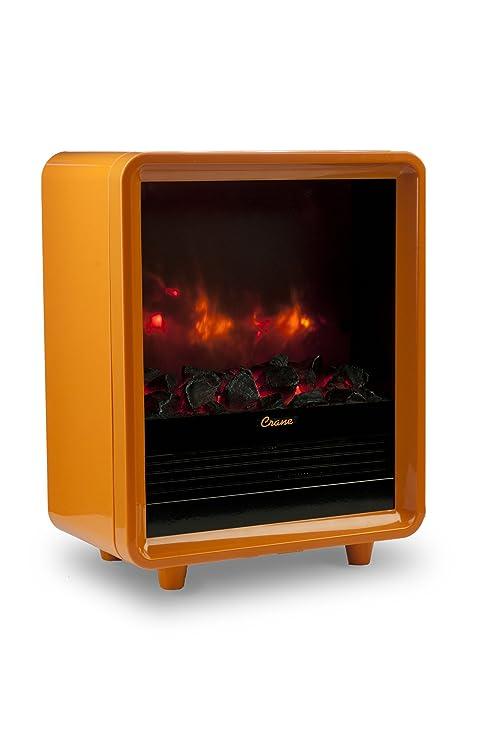 Amazon.com: Crane Mini calentador de chimenea: Home & Kitchen