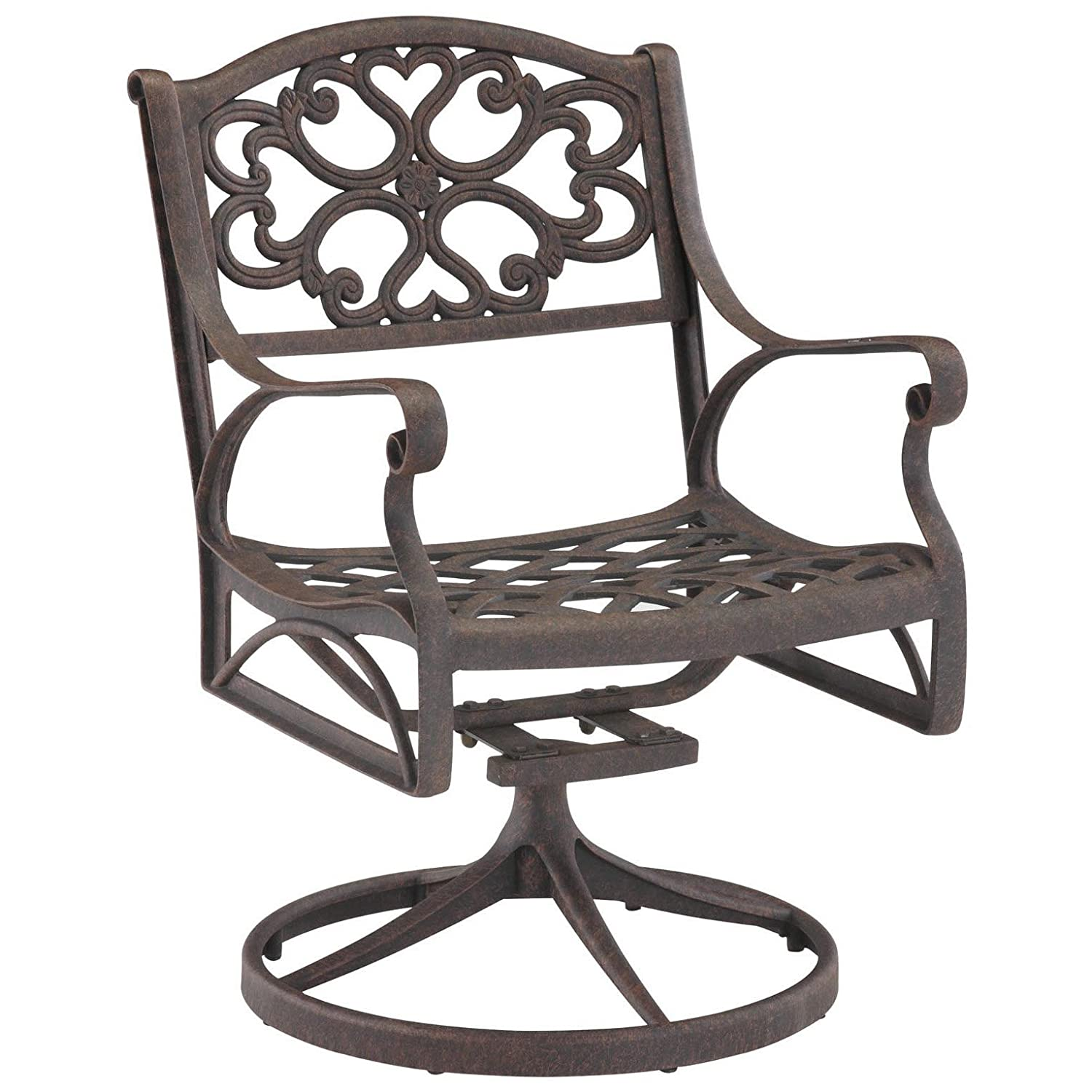 Amazon Home Style 5554 53 Biscayne Swivel Outdoor Arm Chair