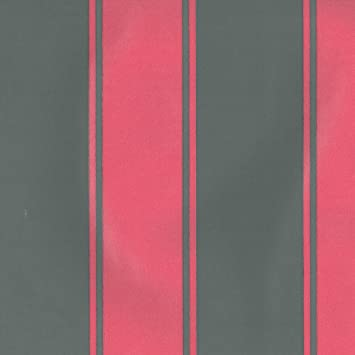 Dutch Wallcoverings 7204–6 Streifen Tapete – Rosa/Grau: Amazon.de ...
