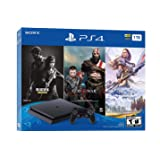 Newest Flagship Sony Play Station 4 1TB HDD Only on Playstation PS4 Console Slim Bundle - Included 3X Games (The Last of…