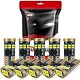 10-Pack 194 LED Bulb, LBRST Error Free T10 LED Bulb, White 6000K Super Bright 168 LED Bulb, 921 2825 W5W LED Replacement…