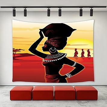 Amazoncom Lbkt Custom Home Decor Wall Art African Women Hanging