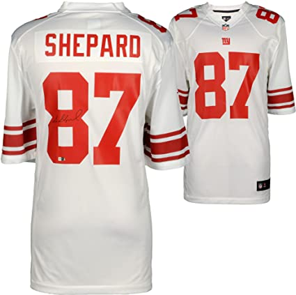 Sterling Shepard New York Giants Autographed White Nike Game Jersey -  Fanatics Authentic Certified - Autographed 981933adc
