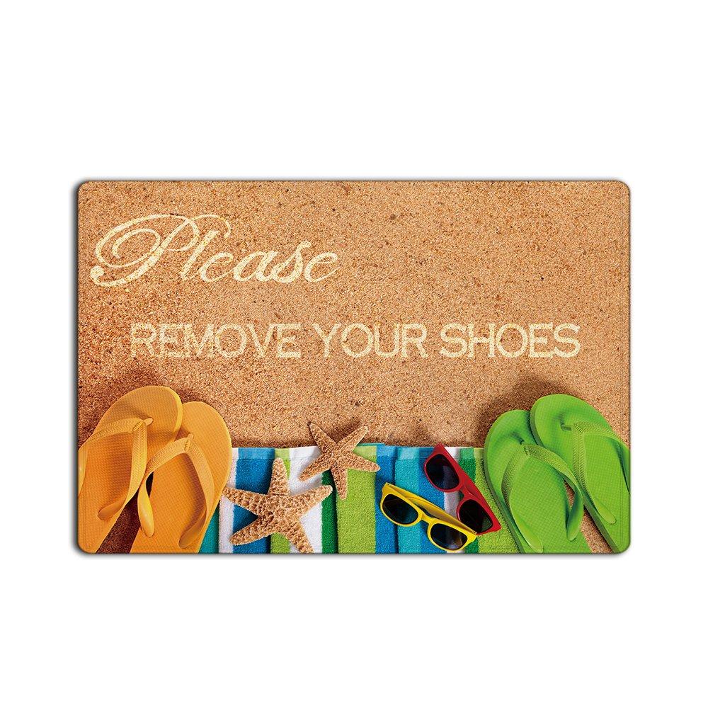 Custom Door Mats Funny Words Take Your Shoes off Please Indoor//Outdoor Doormat Indoor//Outdoors Decor Mat Rugs Chic D