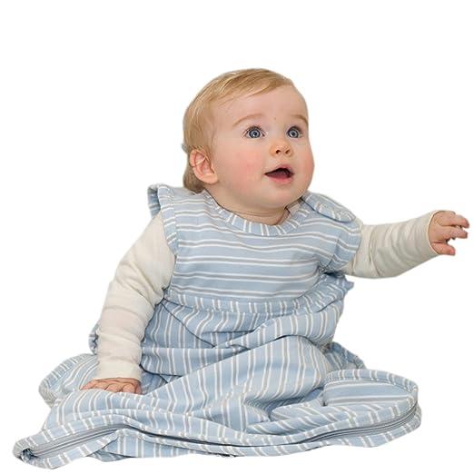 Babies 0 bis 3 Monate Beige Woolino Ganzjahres-Wickeldecke aus Merino-Wolle