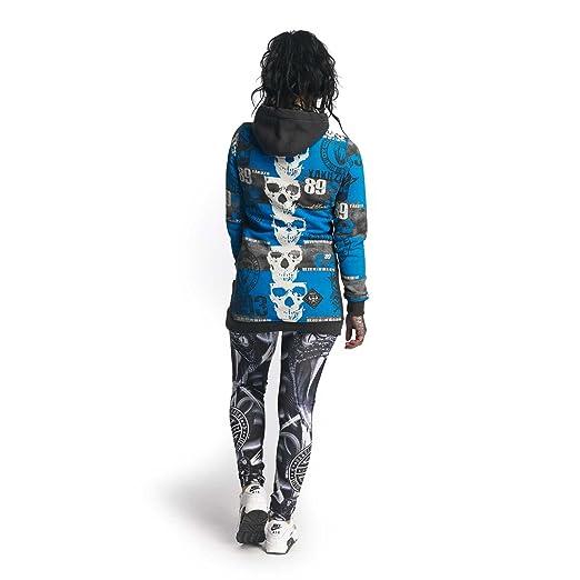 Yakuza Women Overwear/Hoodie Reel Flex Long Grey XS: Amazon.co.uk: Clothing