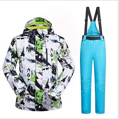 Amazon.com: Traje de esquí para hombre de invierno ...