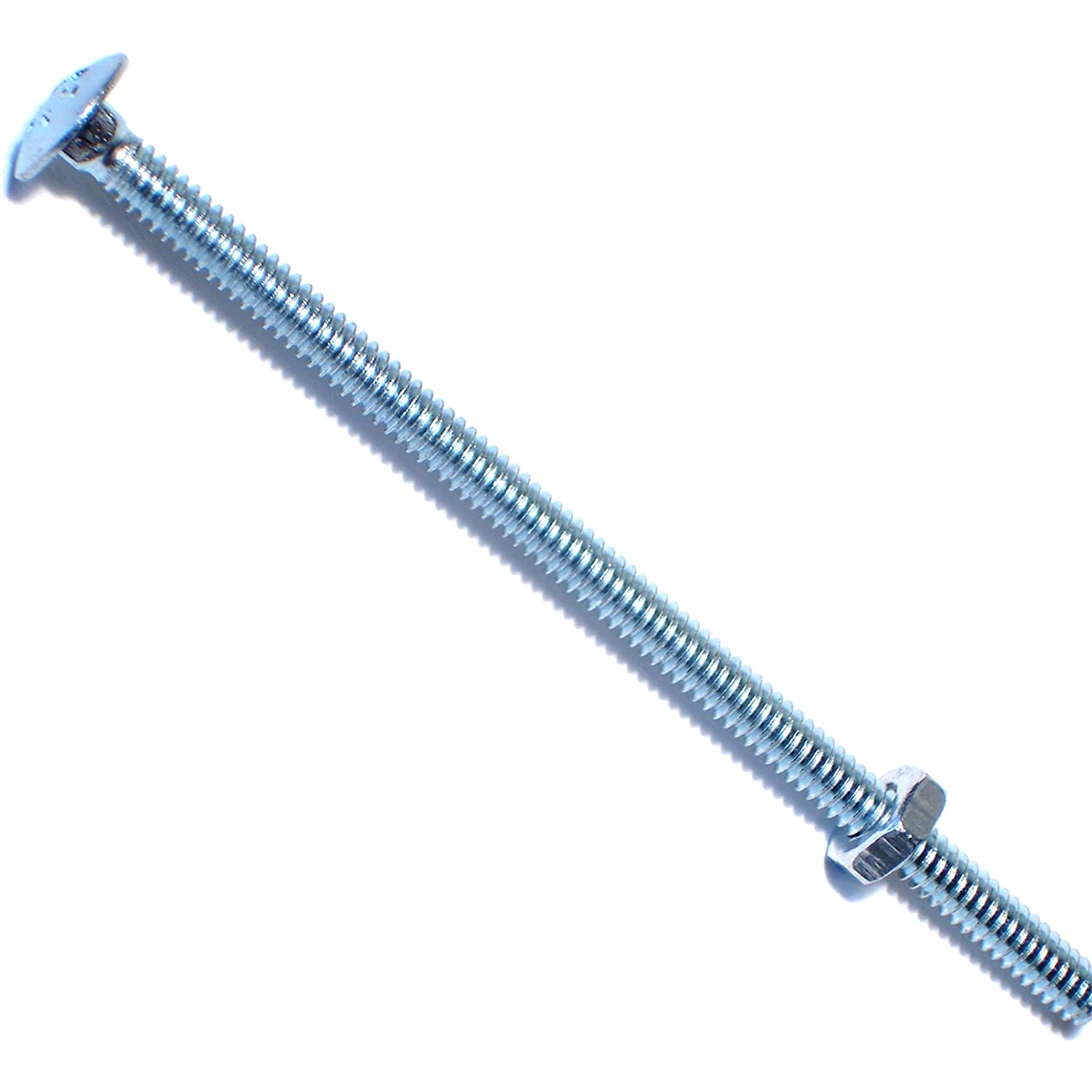 Piece-25 Hard-to-Find Fastener 014973230388 Carriage Bolts 10-24 x 4