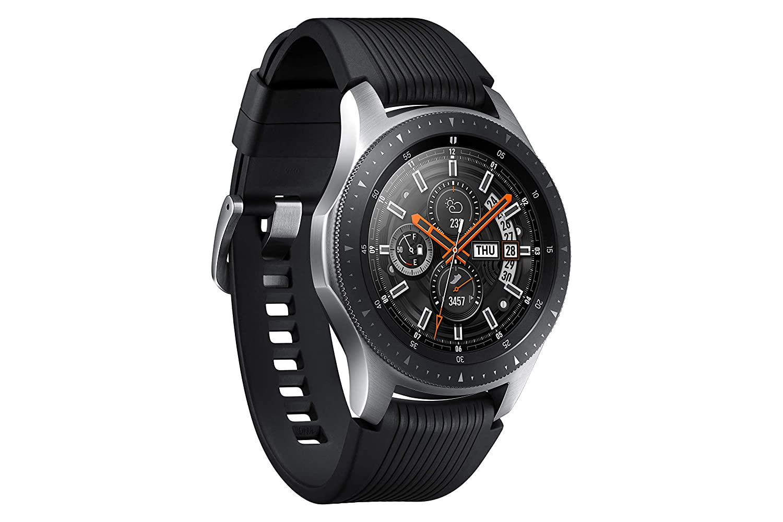 SAMSUNG SM-R805 Reloj Inteligente Negro, Plata SAMOLED 3,3 cm (1.3